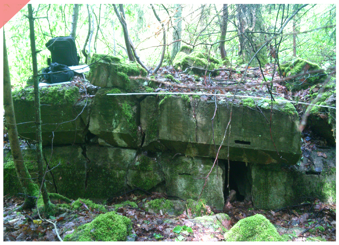 Barack Wolf´s Lair Stauffenberg 20th July 1944 Now Then ruins