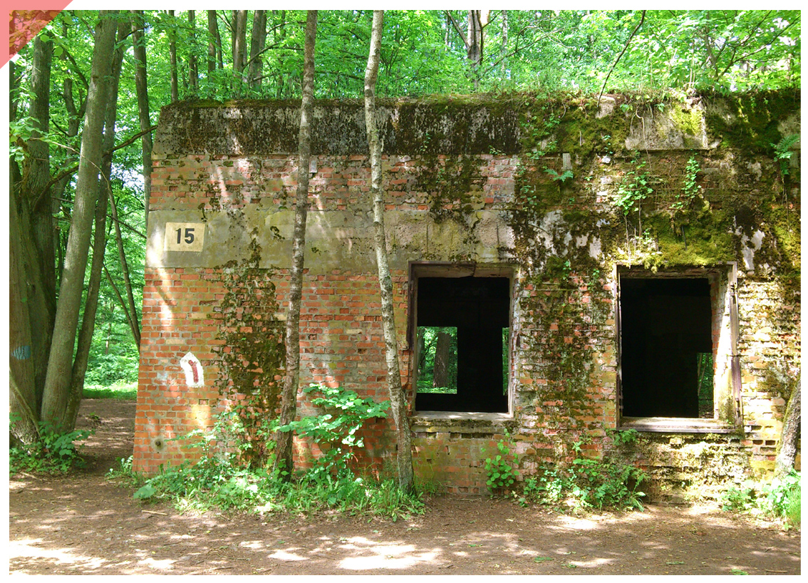 Barack Wolf´s Lair Stauffenberg 20th July 1944 Now Then structural shell